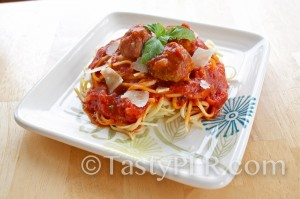 Spaghetti and Meatballs. Tasty!