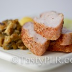 Roasted Pork Tenderlion