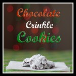 Chocolate Crinkle Pinterest