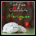 Toffee Chocolate Meringues Pinterest